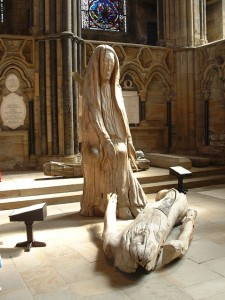 Pieta by Fenwick Lawson in Durham Cathedral