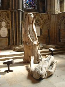 Pieta by Fenwick Lawson in Durham Cathedral